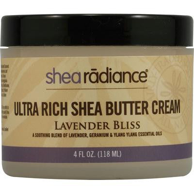 Picture of Shea Radiance Ultra Rich Shea Butter Cream Lavender Bliss - 4 fl oz
