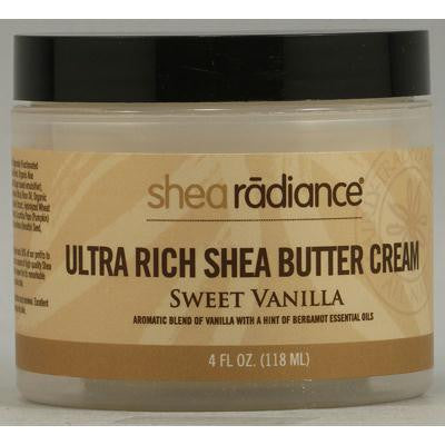 Picture of Shea Radiance Ultra Rich Shea Butter Cream Sweet Vanilla - 4 fl oz