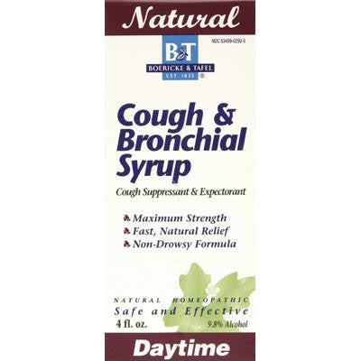Picture of Boericke and Tafel Cough and Bronchitis Syrup - 4 oz