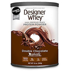 Designer Whey Protein Powder Double Chocolate - 12.7 oz