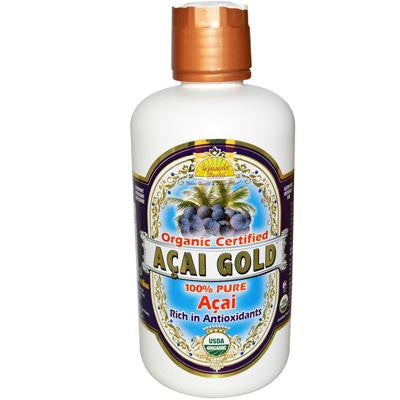 Picture of Dynamic Health Organic Acai Gold - 32 fl oz