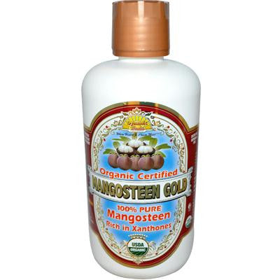 Picture of Dynamic Health Organic Certifiied Mangosteen Gold - 32 fl oz