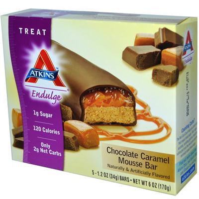 Picture of Atkins Endulge Bar Chocolate Caramel Mousse - 5 Bars