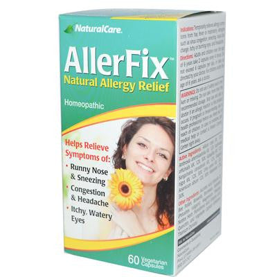 Picture of Natural Care Allerfix - 60 Vcaps
