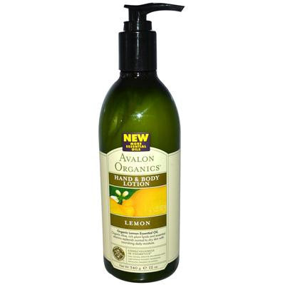 Picture of Avalon Organics Hand and Body Lotion Lemon - 12 fl oz