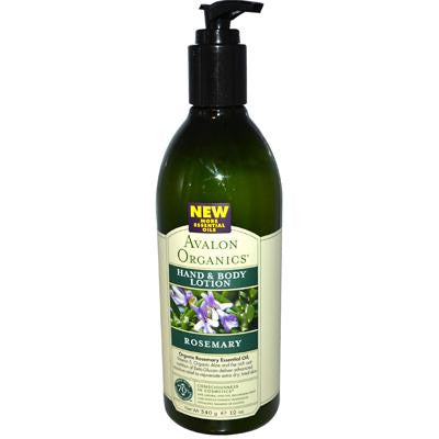 Picture of Avalon Organics Hand and Body Lotion Rosemary - 12 fl oz
