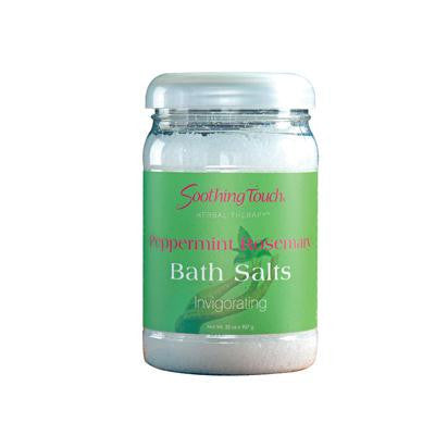 Picture of Soothing Touch Bath Salts - Peppermint Rosemary - 32 oz