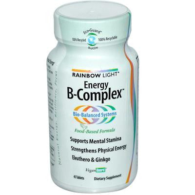 Picture of Rainbow Light Energy B-Complex - 45 Tablets