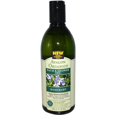 Picture of Avalon Organics Bath and Shower Gel Rosemary - 12 fl oz