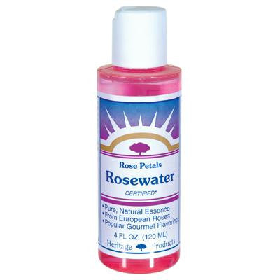 Picture of Heritage Products Rose Petals Rosewater - 4 fl oz