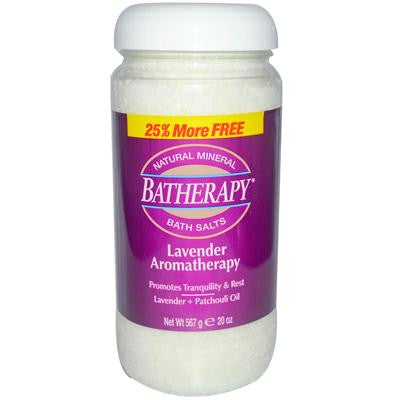 Picture of Queen Helene Batherapy Mineral Bath Salts Lavender - 1 lb