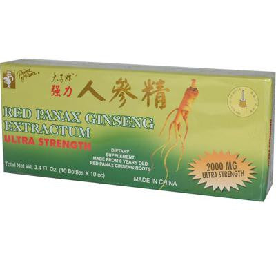 Picture of Prince of Peace Red Panax Ginseng Extractum Ultra Strength - 10 Vials