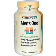 Rainbow Light Men's One Energy Multivitamin - 90 Tablets