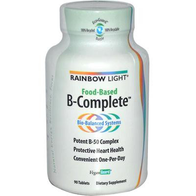 Picture of Rainbow Light Food-Based B-Complete - 90 Tablets