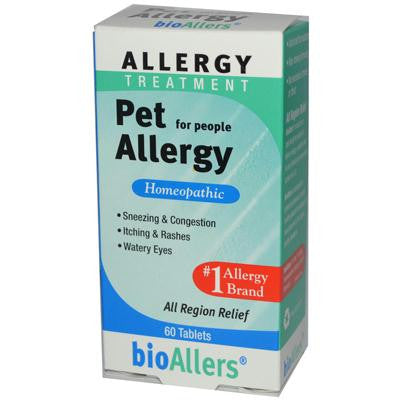 Picture of Bio-Allers Pet Allergy Treatment For People - 60 Tablets