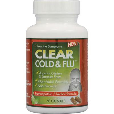 Picture of Clear Products Clear Cold and Flu - 60 Capsules