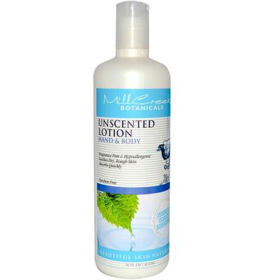 Picture of Mill Creek Botanicals Hand And Body Lotion Unscented - 16 fl oz