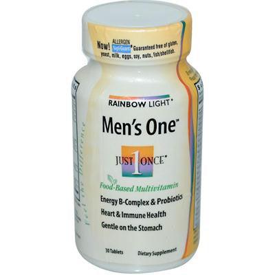 Picture of Rainbow Light Men's One Energy Multivitamin - 30 Tablets