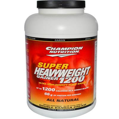 Picture of Champion Nutrition Super Heavyweight Gainer 1200 Double Vanilla Cream - 6.6 lbs