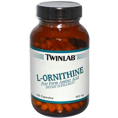 Picture of Twinlab L-Ornithine - 500 mg - 100 Capsules