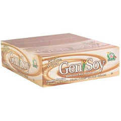 Genisoy Protein Bar - Creamy Peanut Yogurt - Case of 12 - 1.98 oz
