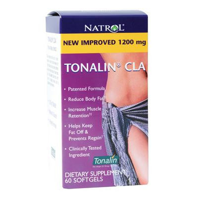 Picture of Natrol Tonalin CLA - 1200 mg - 60 Softgels