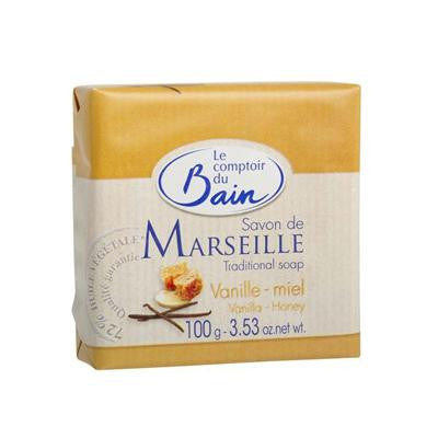 Picture of Le Comptoir Du Bain Soap - Vanilla and Honey Traditional French - 3.52 oz