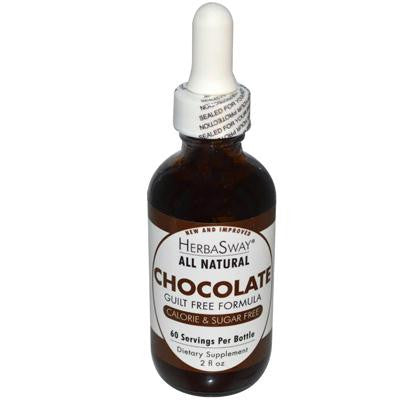 Picture of Herbasway Laboratories Chocolate Guilt Free Formula - 2 fl oz