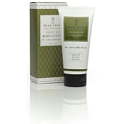 Picture of Deep Steep Soy Body Lotion Rosemary Mint - 6 fl oz