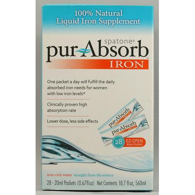 Picture of Spatone Pur-Absorb Iron - 0.67 fl oz