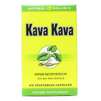 Picture of Natural Balance Kava Kava Root - 450 mg - 60 Vegetarian Capsules