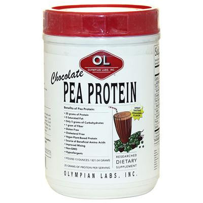 Picture of Olympian Labs Pea Protein Chocolate - 1.13 lbs