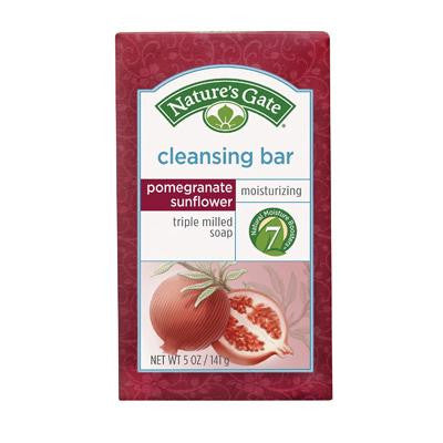 Picture of Nature's Gate Cleansing Bar - Pomegranate Sunflower - 5 oz
