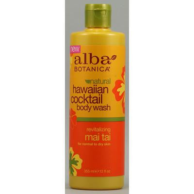 Picture of Alba Botanica Hawaiian Cocktail Body Wash Mai Tai - 12 fl oz