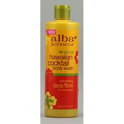 Picture of Alba Botanica Natural Hawaiian Cocktail Body Wash Lava Flow - 12 fl oz