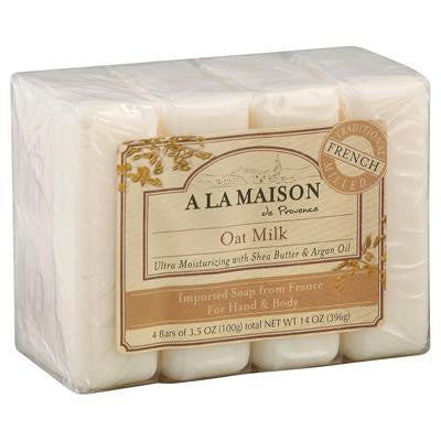 Picture of A La Maison Bar Soap - Oat Milk - Value4 Pack