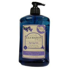 A La Maison French Liquid Soap - Spring Iris - 16.9 oz