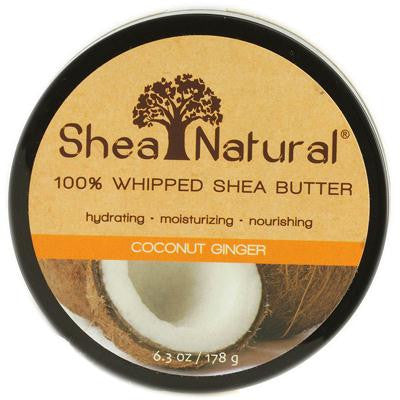 Picture of Shea Natural Whipped Shea Butter Coconut Ginger - 6.3 oz