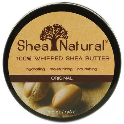 Picture of Shea Natural Whipped Shea Butter Original Fragrance Free - 7 oz