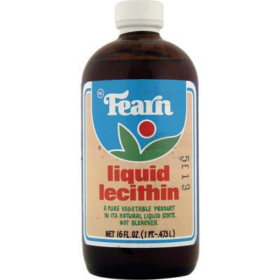 Picture of Fearn Liquid Lecithin - 16 fl oz - Case of 12