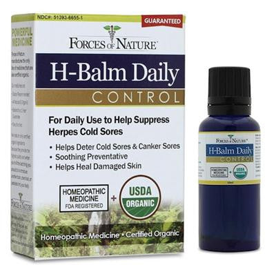 Picture of Forces of Nature Organic H-Balm Daily Control - 33 ml