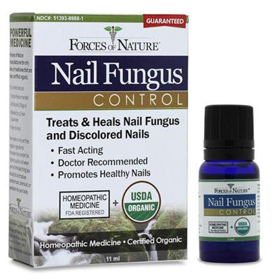 Picture of Forces of Nature Organic Nail Fungus Control - 11 ml
