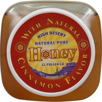 Picture of C.C. Pollen Natural Pure Honey Cinnamon - 12 oz