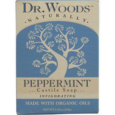 Picture of Dr. Woods Castile Bar Soap Peppermint - 5.25 oz