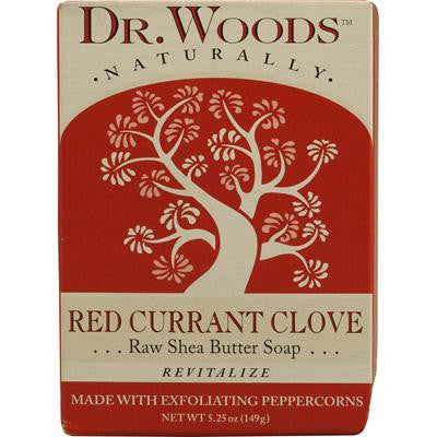 Picture of Dr. Woods Bar Soap Red Currant Clove - 5.25 oz