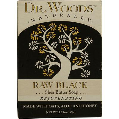 Picture of Dr. Woods Bar Soap Raw Black - 5.25 oz