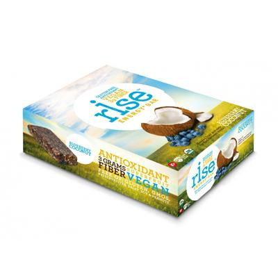 Picture of Rise Bar Energy Bar - Organic Blueberry Coconut - Case of 12 - 1.6 oz