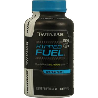 Picture of Twinlab Ripped Fuel Extended Release Fat Burning Formula - 60 Tablets
