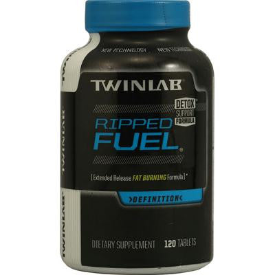 Picture of Twinlab Ripped Fuel Extended Release Fat Burning Formula - 120 Tablets