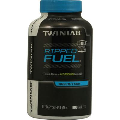 Picture of Twinlab Ripped Fuel Extended Release Fat Burning Formula - 200 Tablets